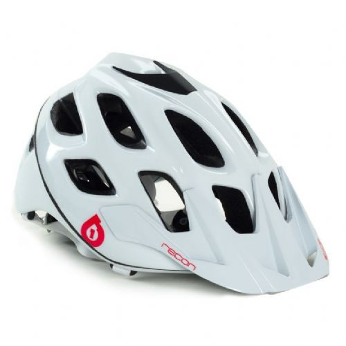 SixSixOne Recon Scout Helmet - White/Red - S/M - White/Red